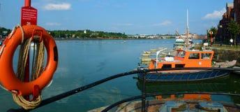 Muelles de Preston foto de archivo