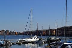 Muelles de Preston Fotos de archivo