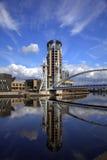 Muelles de Salford en Manchester Imagenes de archivo