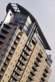 Muelles modernos de Salford de los apartamentos, Manchester Foto de archivo libre de regalías