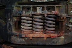 Muelles suspendedores Imagen de archivo
