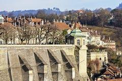 Muenster platform in Bern, Switzerland Stock Images