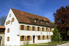 Muenzhaus in Schongau Royalty Free Stock Image