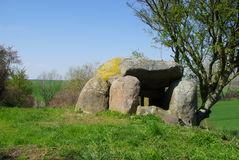 Muerow Dolmen 03 Stock Image