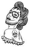 Muerte de Santa libre illustration