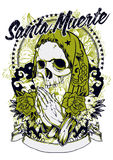 Muerte de Santa Imagens de Stock