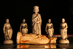 Muerte de un rey Imagenes de archivo