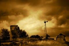 Muerte de una granja Foto de archivo libre de regalías