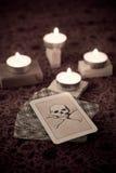Muerte del gráfico Imágenes de archivo libres de regalías