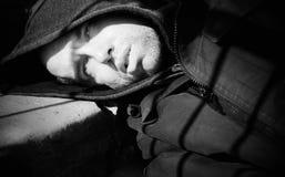Muerte del Hobo fotos de archivo