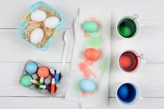Muerte del huevo de Pascua Imagen de archivo libre de regalías