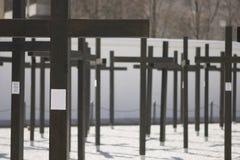 Muerte en el muro de Berlín Imagenes de archivo