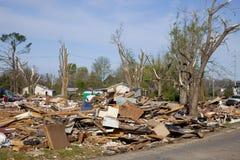 Muertes del tornado Imagen de archivo libre de regalías