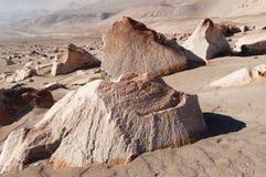 muerto Peru petroglify Toro Obrazy Stock