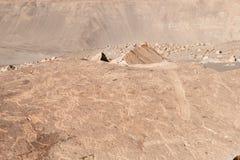 muerto Peru petroglify Toro Obraz Stock