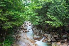 Muesca New Hampshire de Franconia Foto de archivo libre de regalías