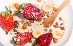 Muesli с ягодами Стоковые Фото