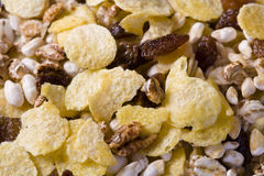 Muesli background Stock Photos