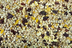 Muesli background Royalty Free Stock Photo