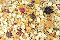 Muesli Background Royalty Free Stock Image