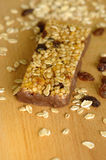 Muesli bar Royalty Free Stock Image