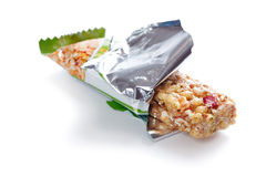 Muesli bar Royalty Free Stock Photos