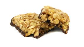 Muesli bar Royalty Free Stock Photography