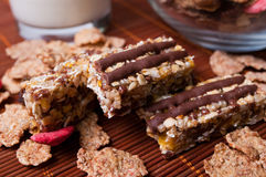 Muesli bar Royalty Free Stock Images