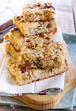 Muesli bars Stock Photo