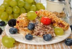 Muesli bars with berries Stock Photography