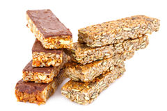 Muesli bars Stock Photography