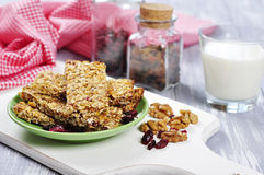 Muesli Bars Royalty Free Stock Photo