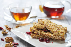 Muesli Bars Stock Photos