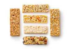 Muesli bars Royalty Free Stock Photos