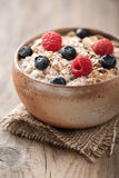Muesli with berries Royalty Free Stock Photo