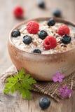 Muesli with berries Stock Photos