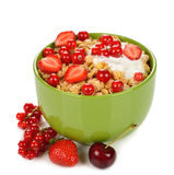 Muesli with berries Royalty Free Stock Image