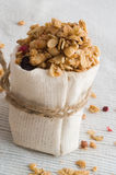Muesli and berry Stock Image