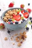 Muesli with berry Stock Photo