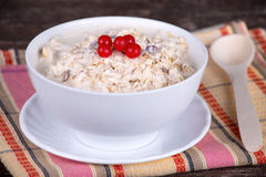 Muesli with berry Stock Photo