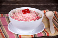Muesli with berry Stock Images