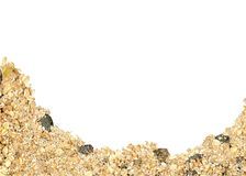 Muesli border Royalty Free Stock Image