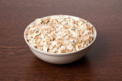 Muesli in bowl Royalty Free Stock Photo