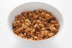 Muesli bowl Stock Photo