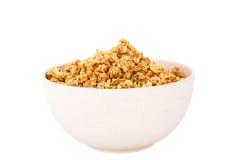Muesli in bowl Stock Images