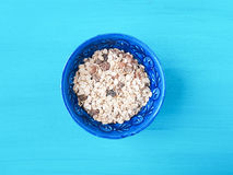 Muesli in a bowl Royalty Free Stock Photo