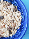 Muesli in a bowl Stock Photos