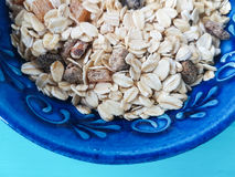 Muesli in a bowl Stock Photography