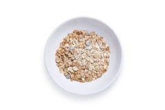 Muesli in bowl Stock Photography