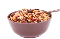 Muesli in the bowl Stock Photo